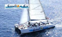 Catamaran Sensation lloret costa brava